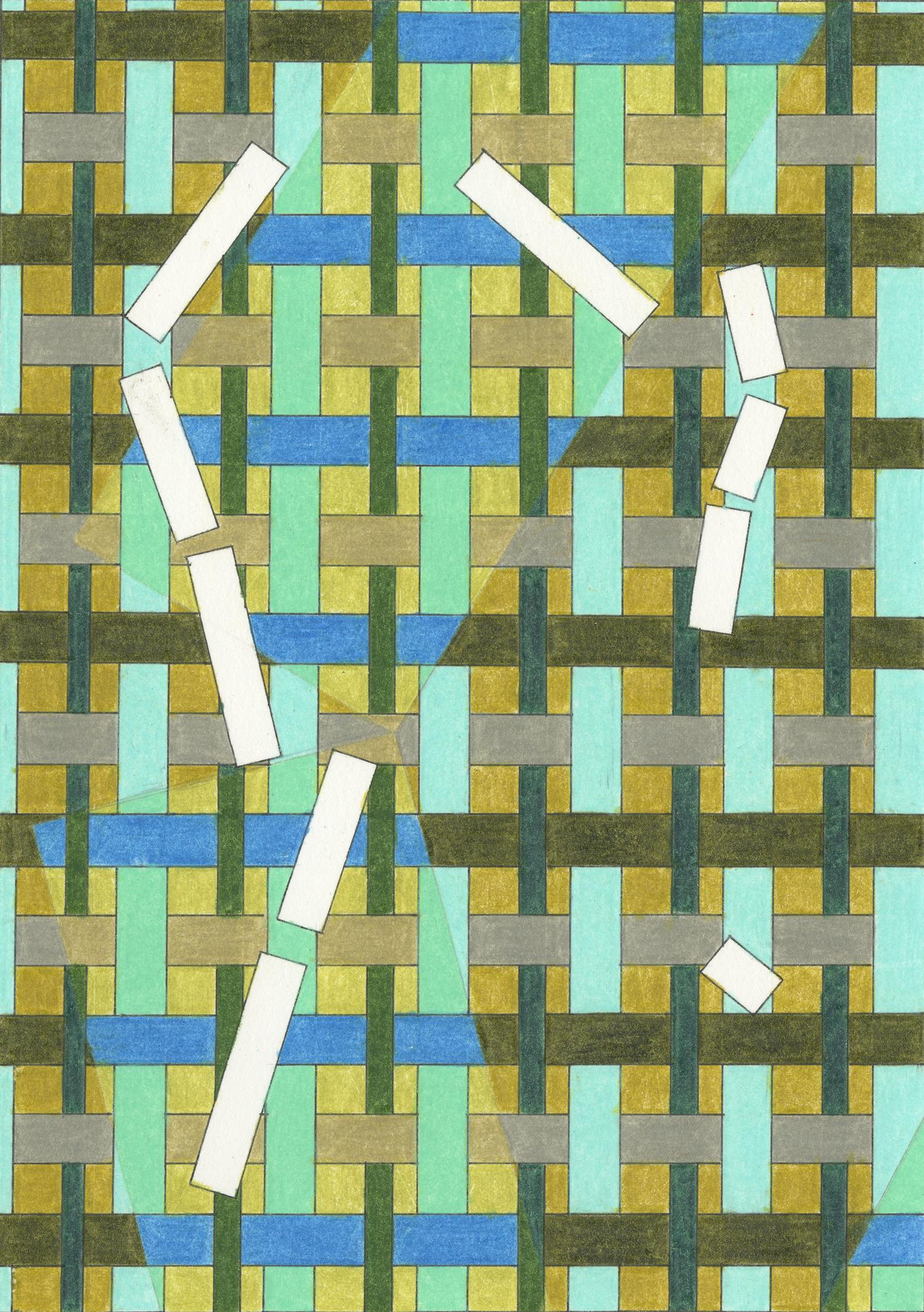 """Ladder #1, 5"""" x 7"""", 2013"""
