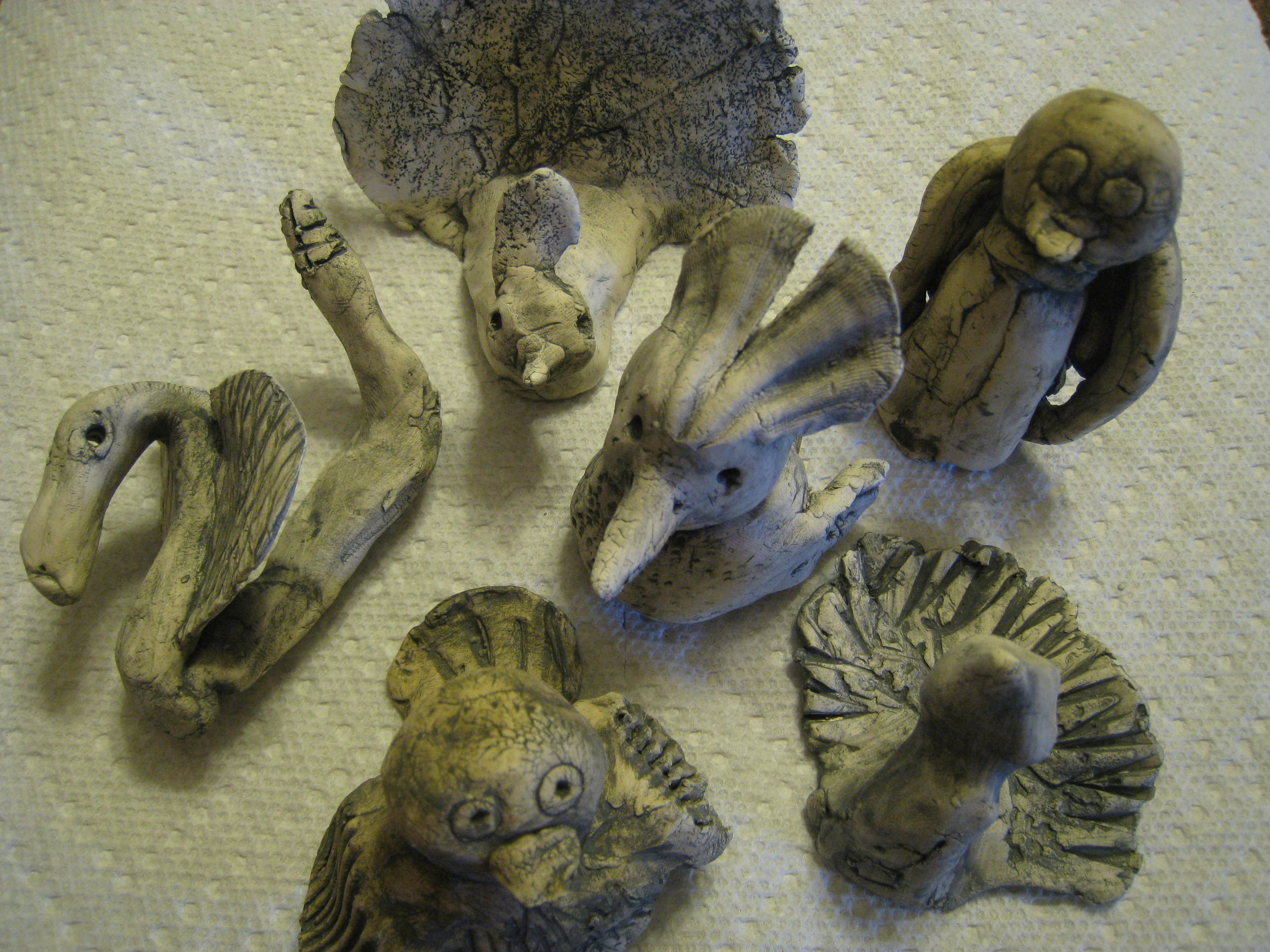 Jordan's Clay Pocket Creatures JPG.JPG