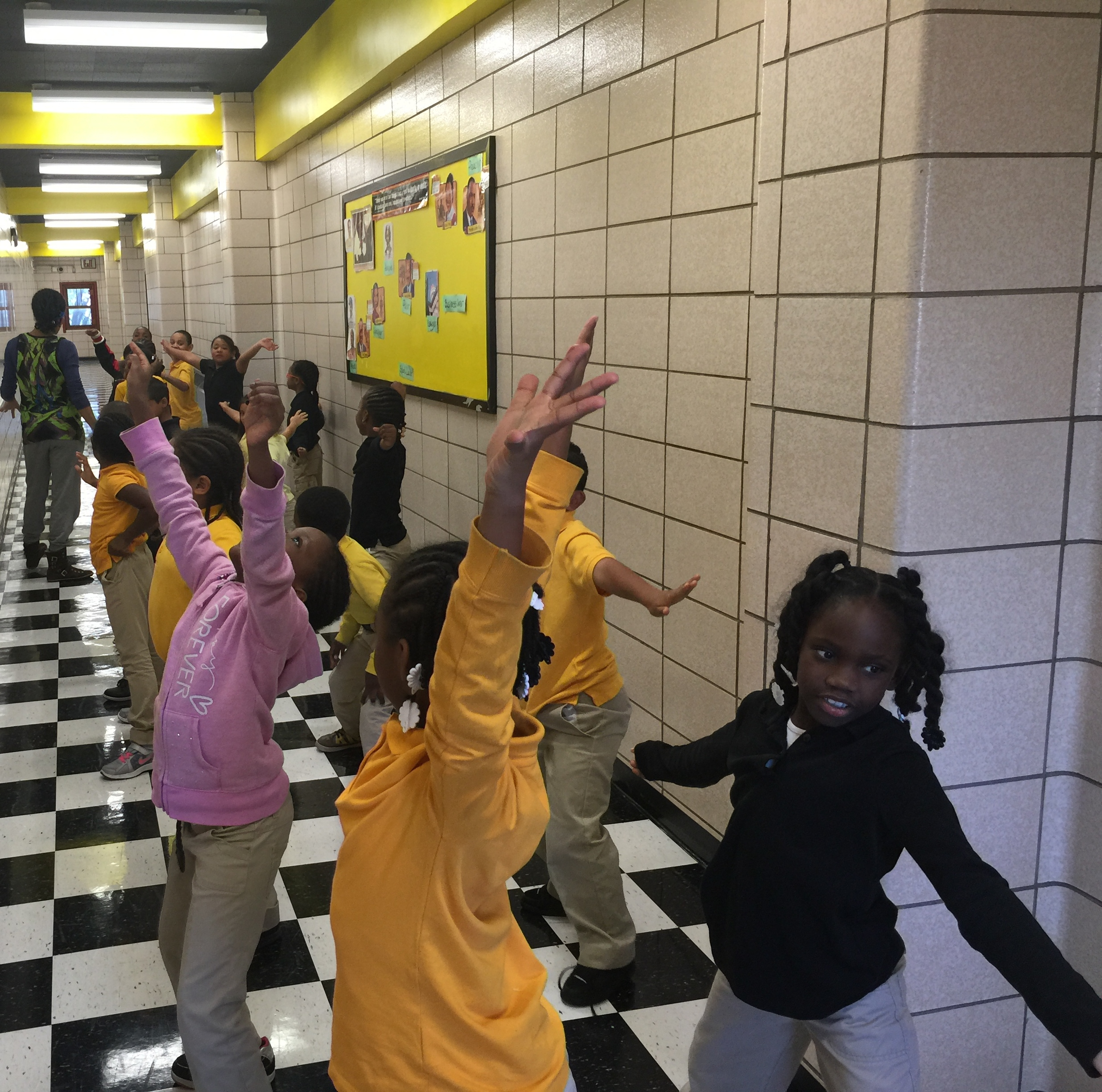 Teaching Firms of America - Students explore movement and culture through folkloric dance