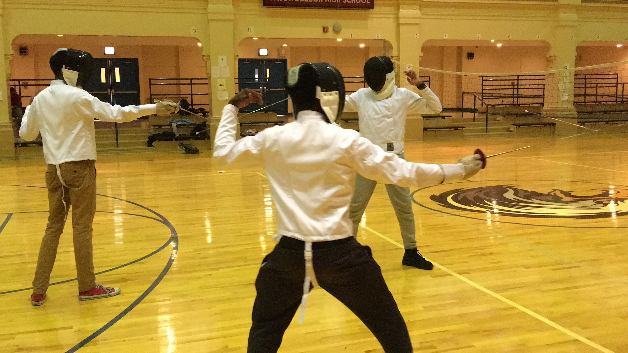 Fencing at Pathways in Technology provided by EM Techniques.