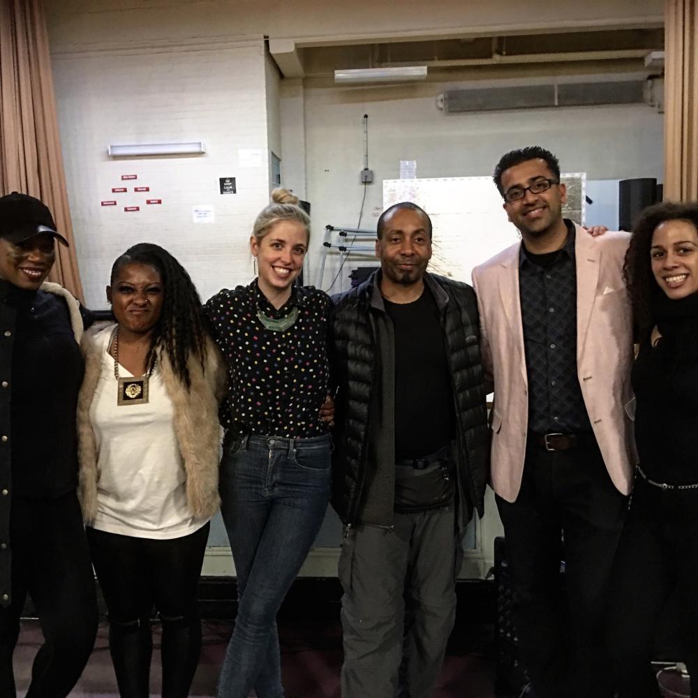 Emory M Moore Jr . - EM   Arts  CEO, Hemanth Venkataraman Project Admin  Unity Prep charter school  with  EM Teaching artists  Imani, Dominique, Jessie, Azriel for Step Dance, Afro Caribean and Chorus