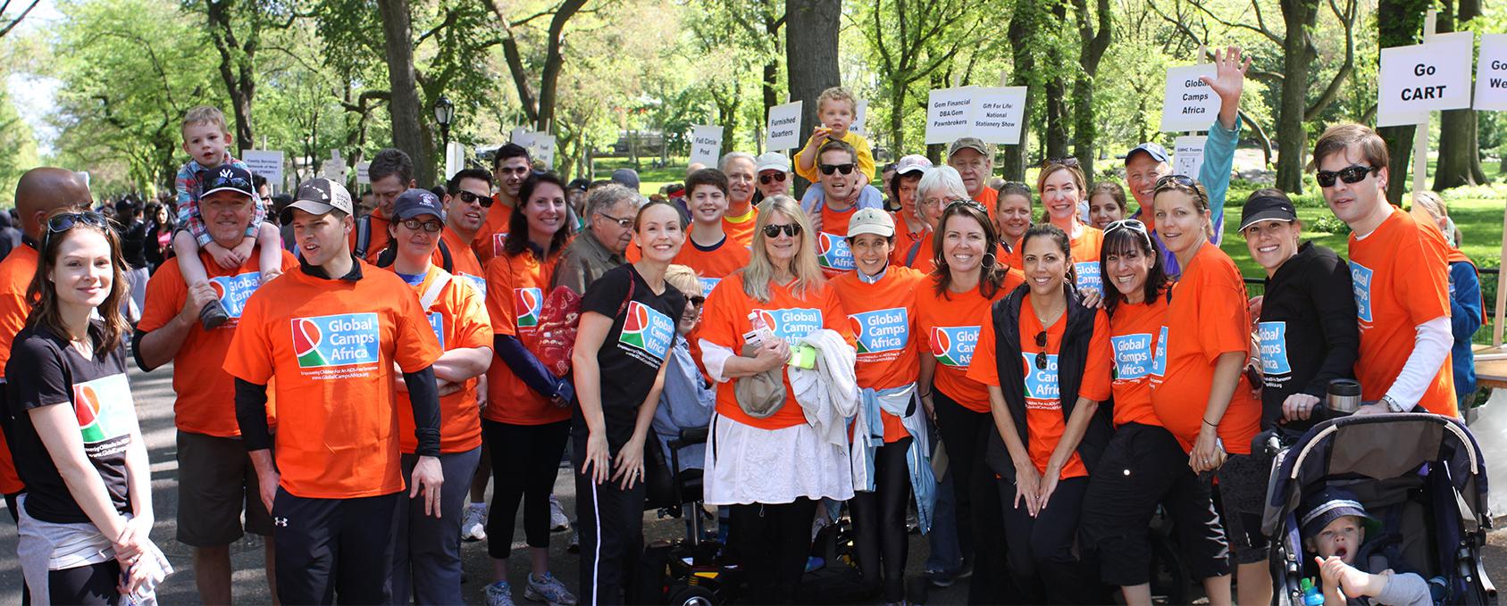 Team GCA AIDS Walk 2014