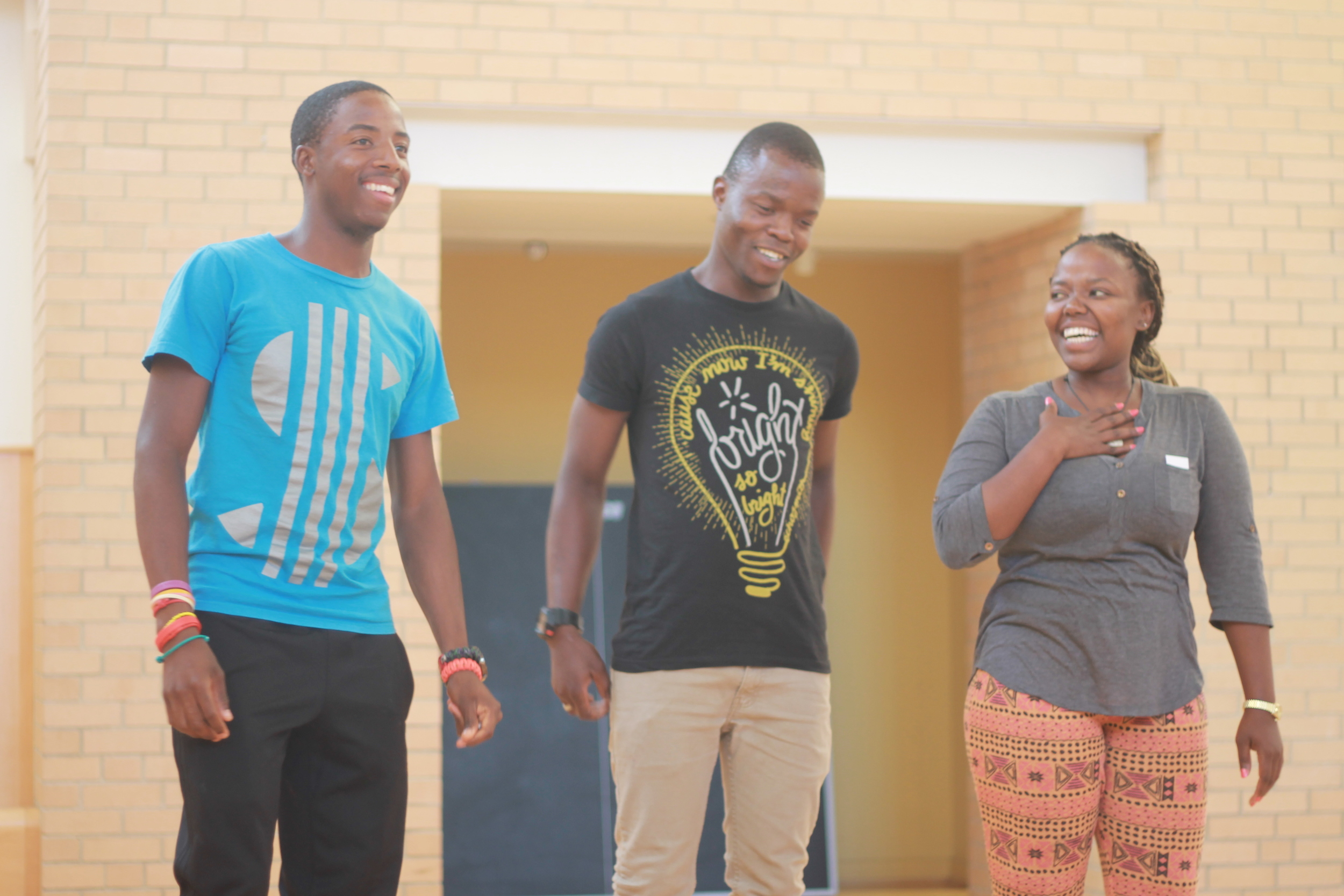 Vochellis Sifiso, Kay, and Thembi