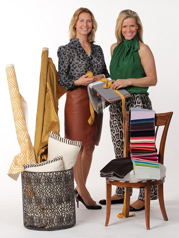 Cornelia Thrane-Steen og Maria Erlingsdotter Neerland driver Divine Design.