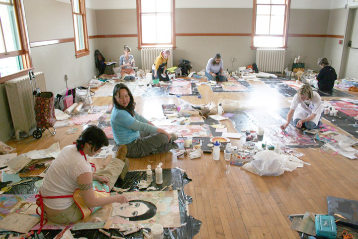 Wallpaper Panel Workshop - Artfest