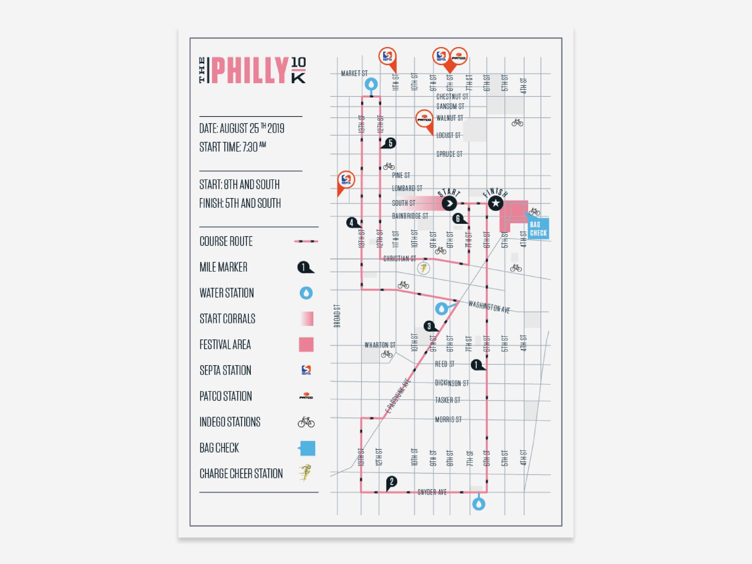 19 The Philly 10K course map.png