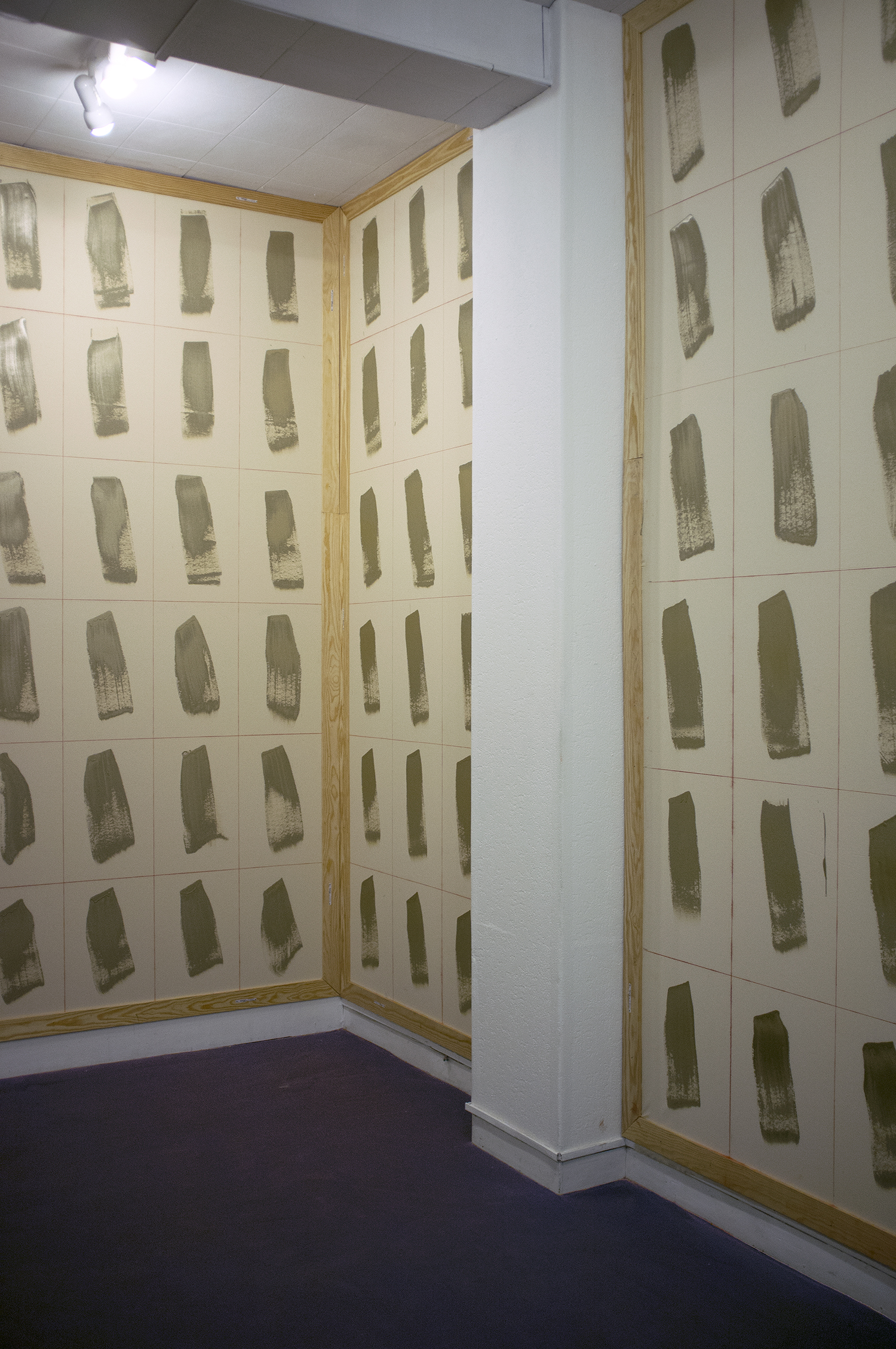 Robert Tombs/ L'Occupation  installation, ParisCONCRET, Paris, France, 2013