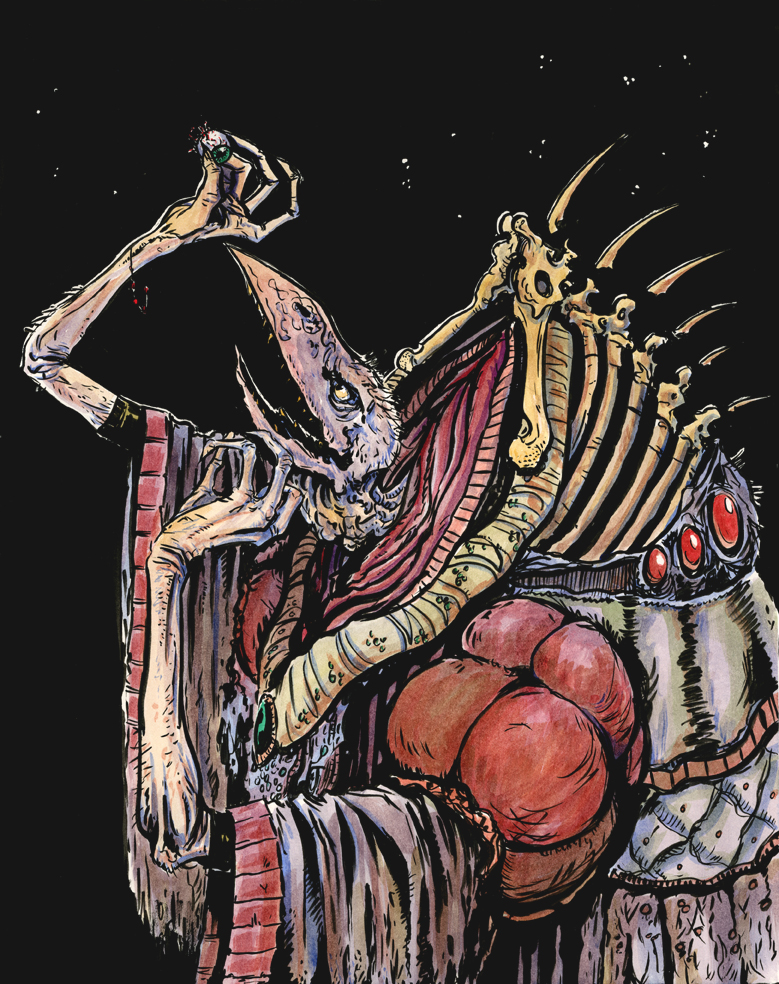 Cruel, heartless, and the embodiment of sin. The Skeksis