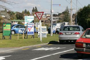 People have a month to respond to the draft policy to prohibit roadside signs on public land - File.