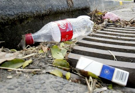 Rubbish in a drain. File image - Jimmy Joe