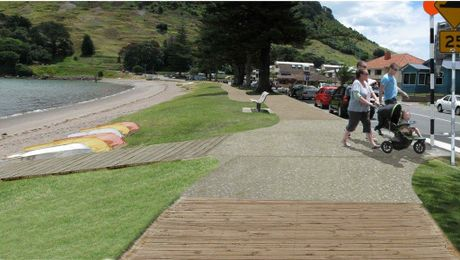 Pilot Bay's boardwalk has been approved.