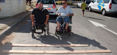 Councillor Tony Christiansen supports the proposed Pilot Bay boardwalk.