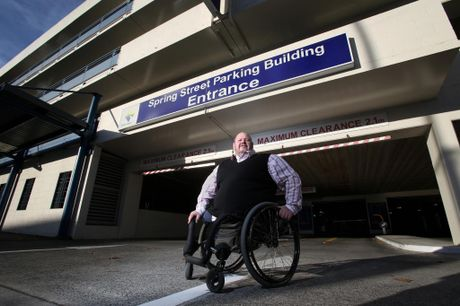 Councillor Tony Christiansen says parking buildings provide a sanctuary for illegal vehicles. Joel Ford