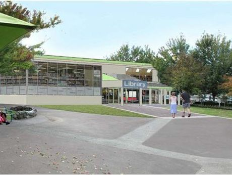 Big plans drawn up for the Greerton Library have now been shelved.