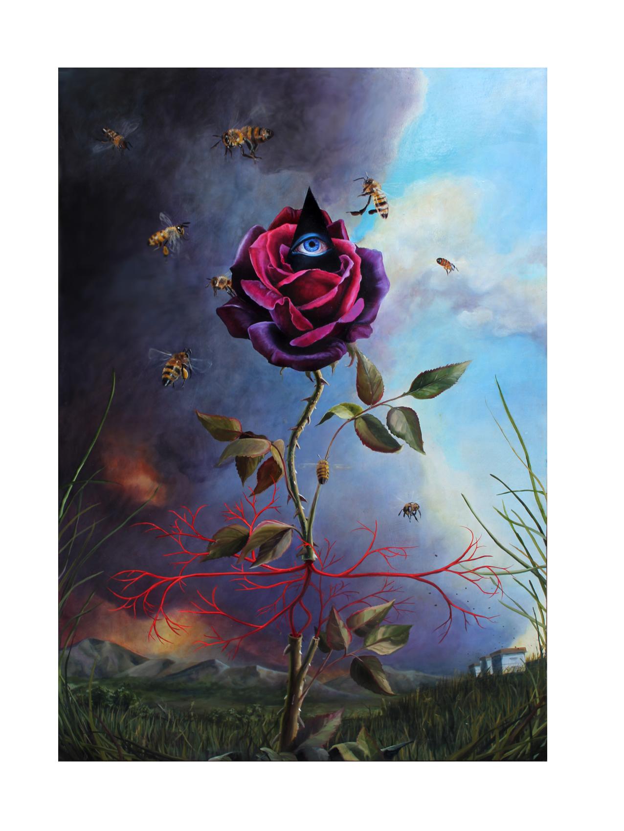 Scott.Dat Rosa Mel Apibus-The rose gives the bees honey.jpg