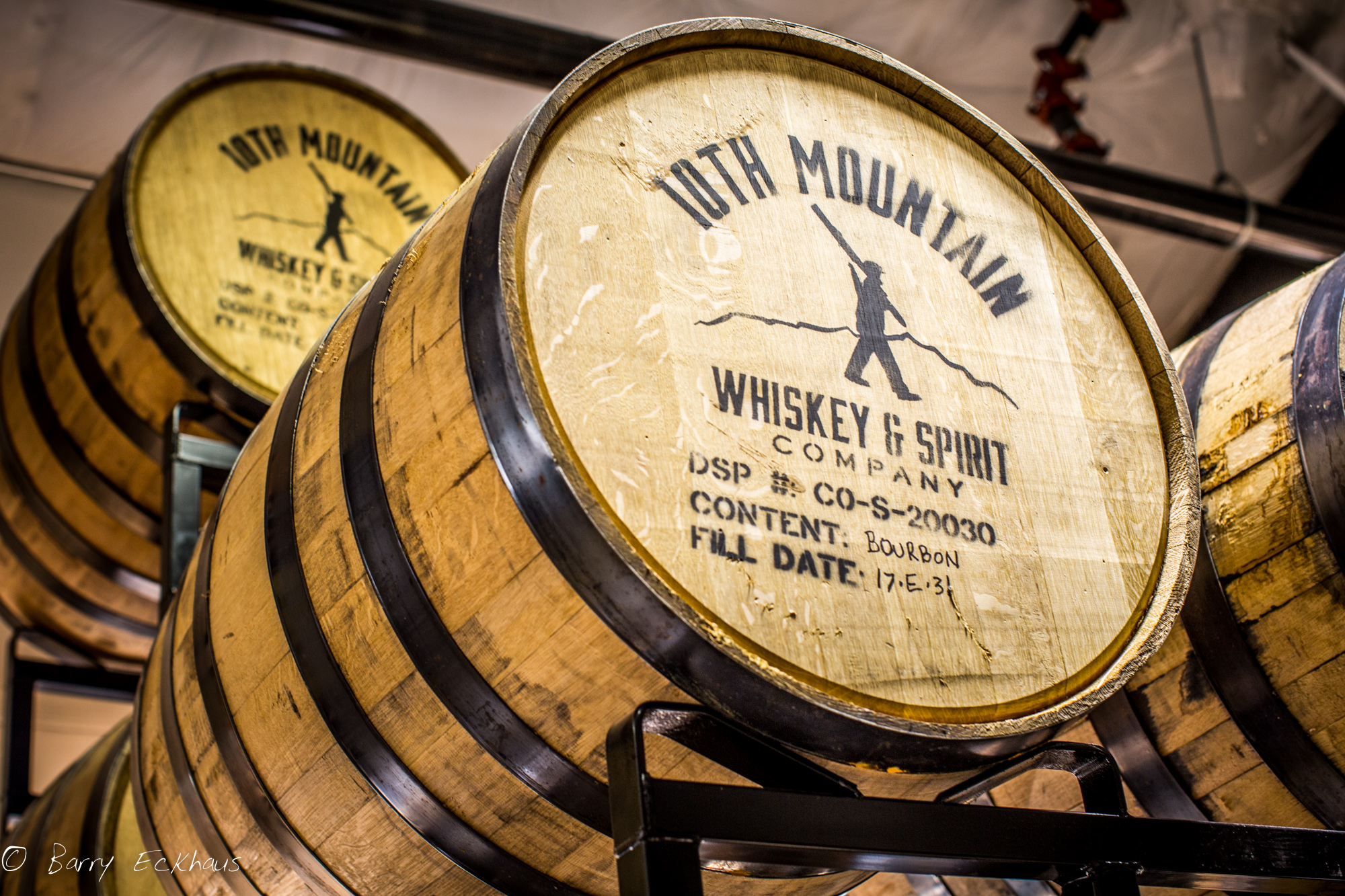10th Mountain Distillery barrels 2