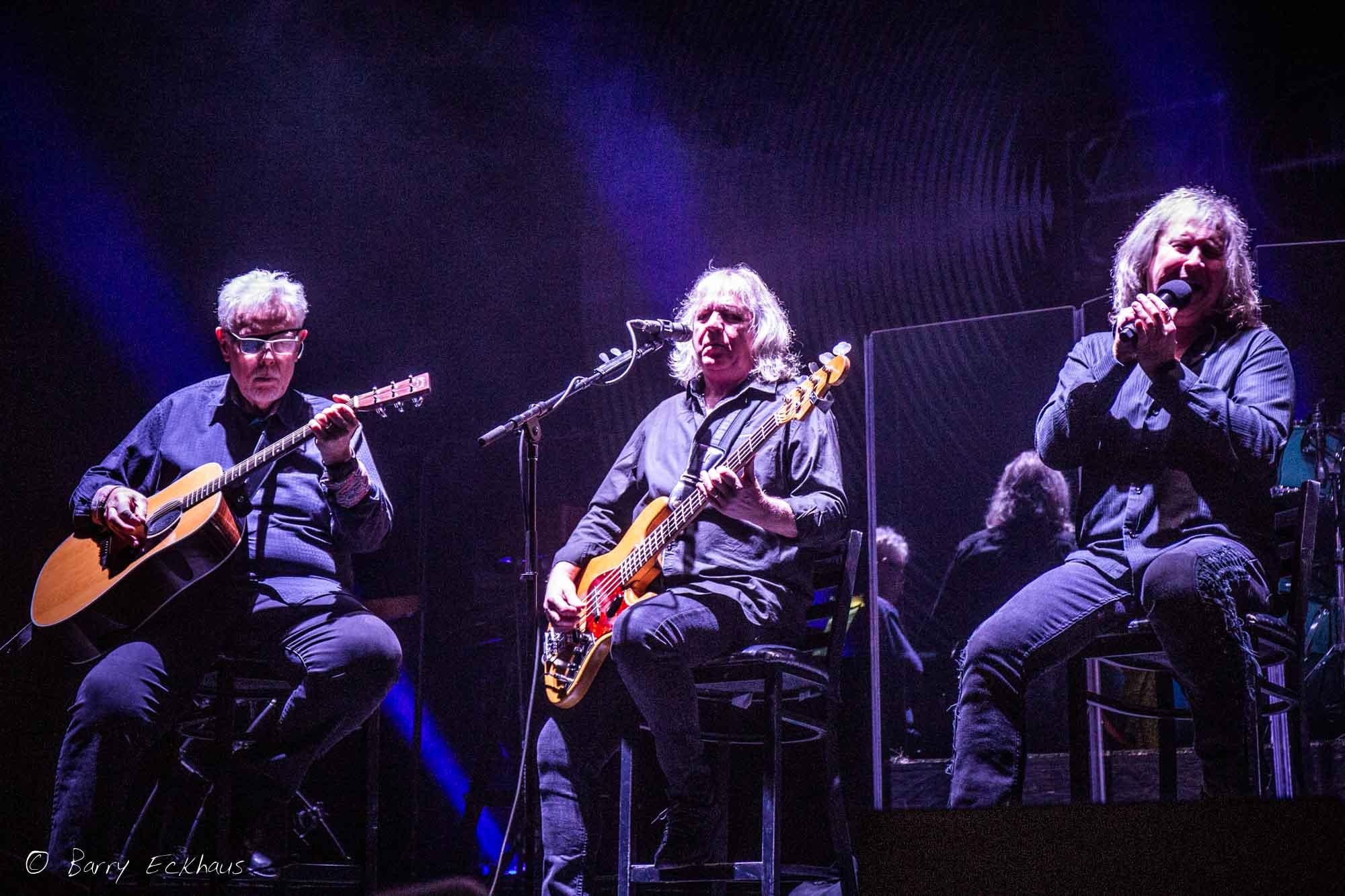 Concert photography of the band Kansas, Beaver Creek, Colorado.