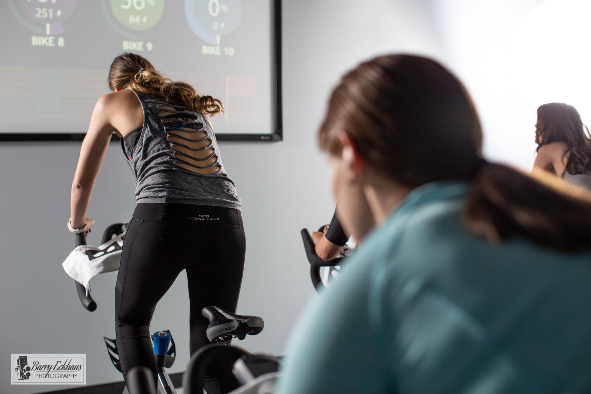 Revolve Ride, cycling studio in Eagle, Colorado.