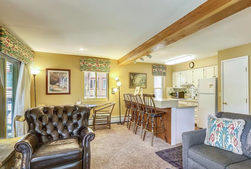 Timbernest rental property in Breckenridge, Colorado.