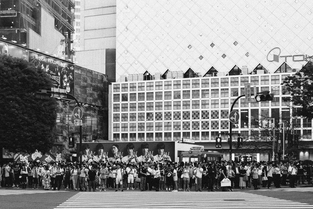Shibuya Crossing/Armies of opposing sides