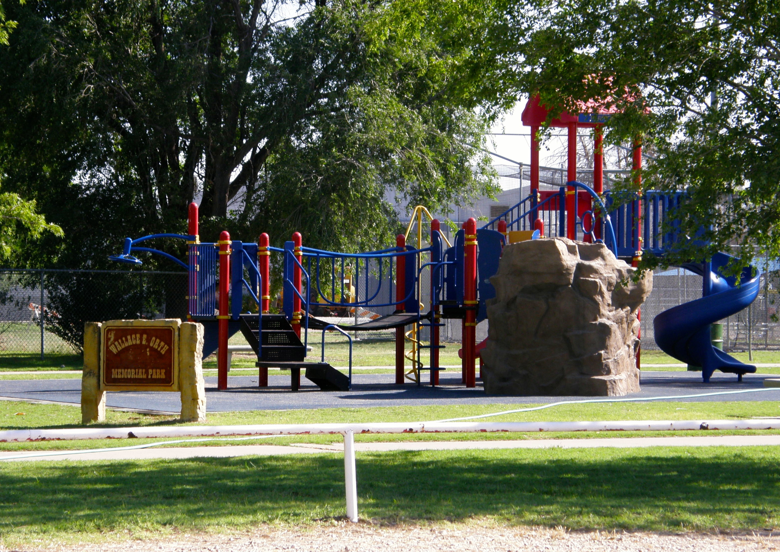 Playground and Walking Track
