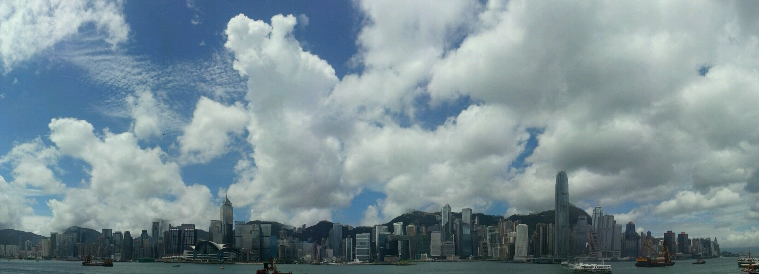 Kowloon skyline