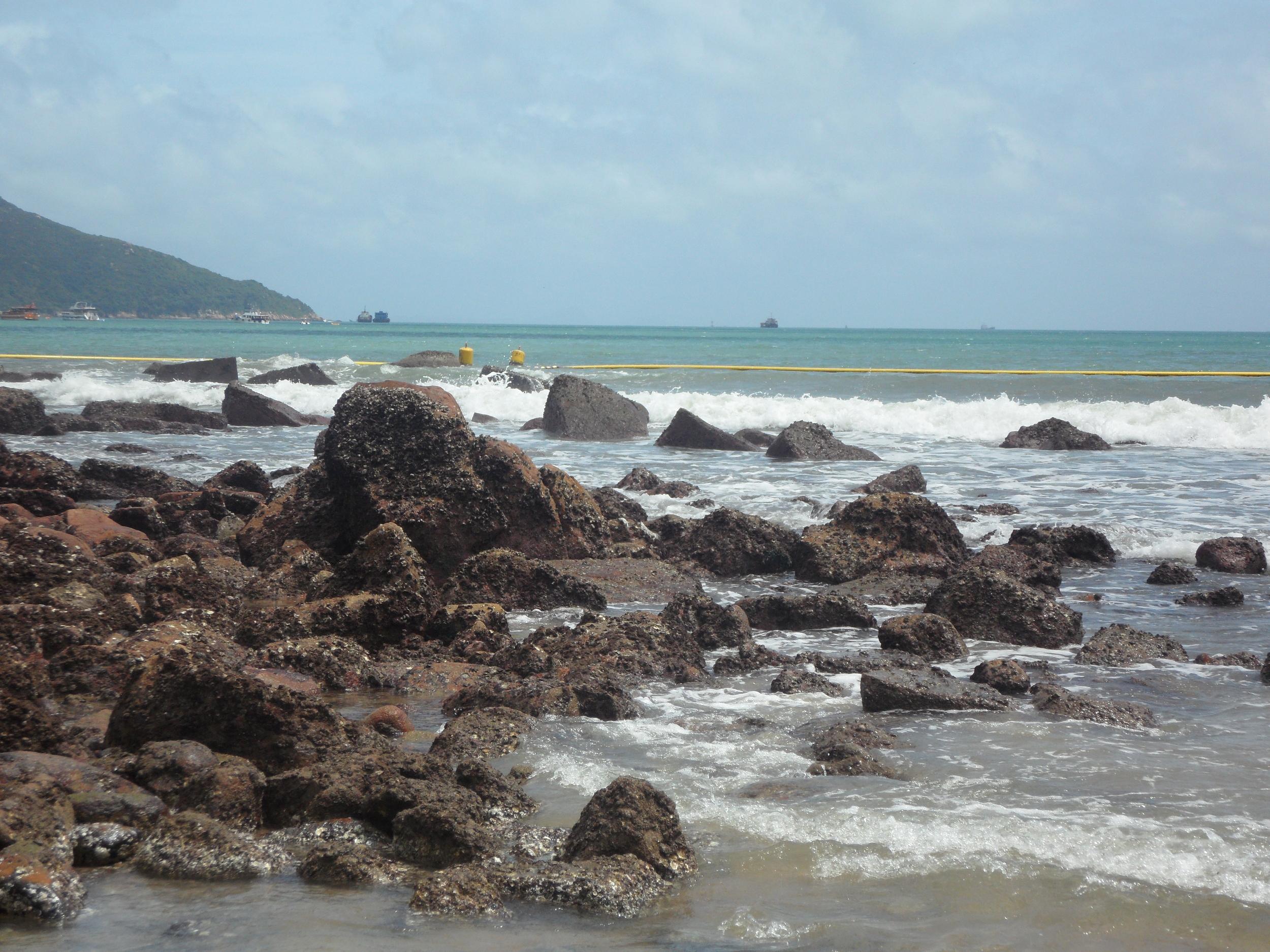 Beach on Lamma Island