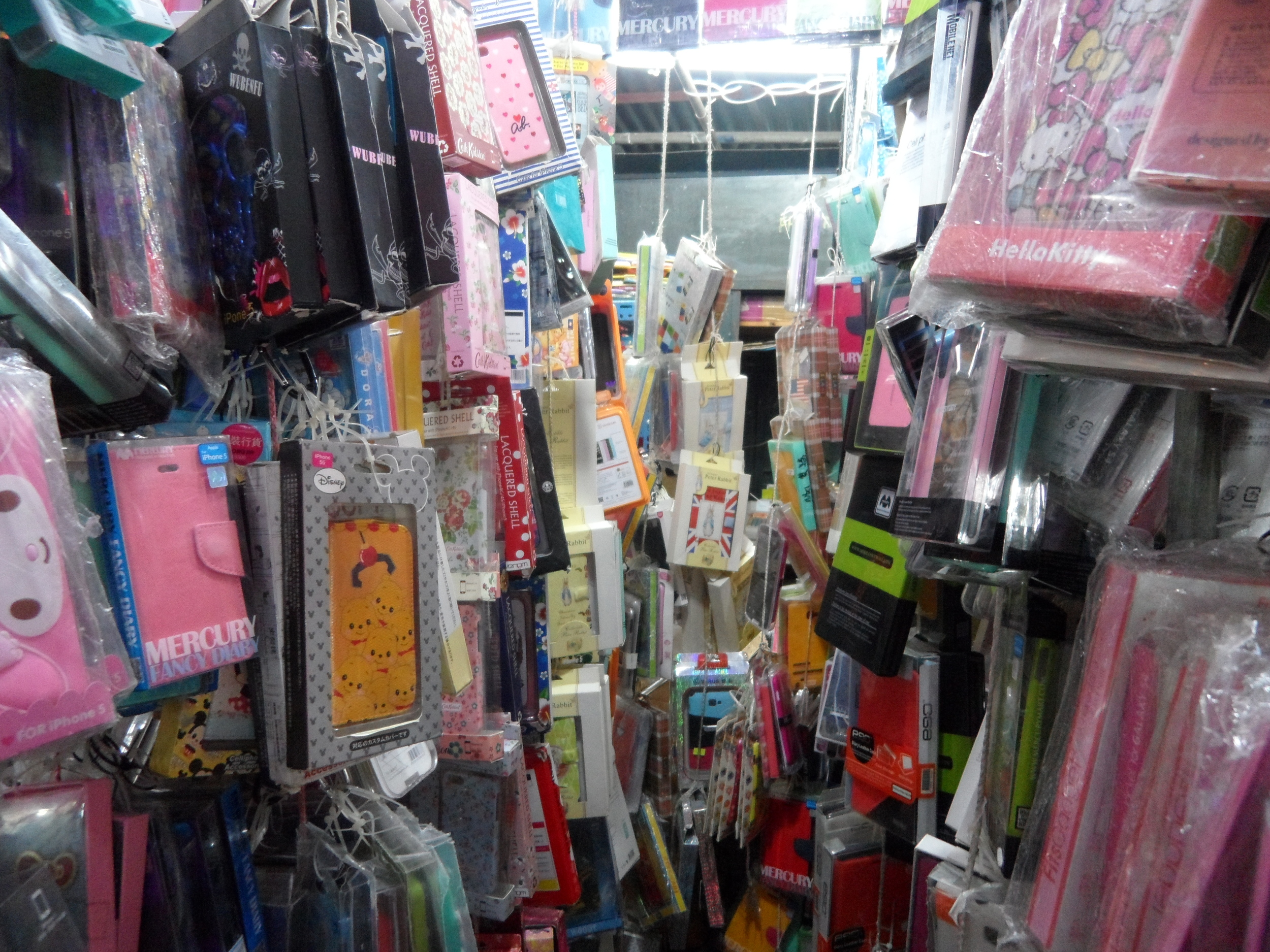 Phone cases, Ap Liu Street Market (鴨寮街)