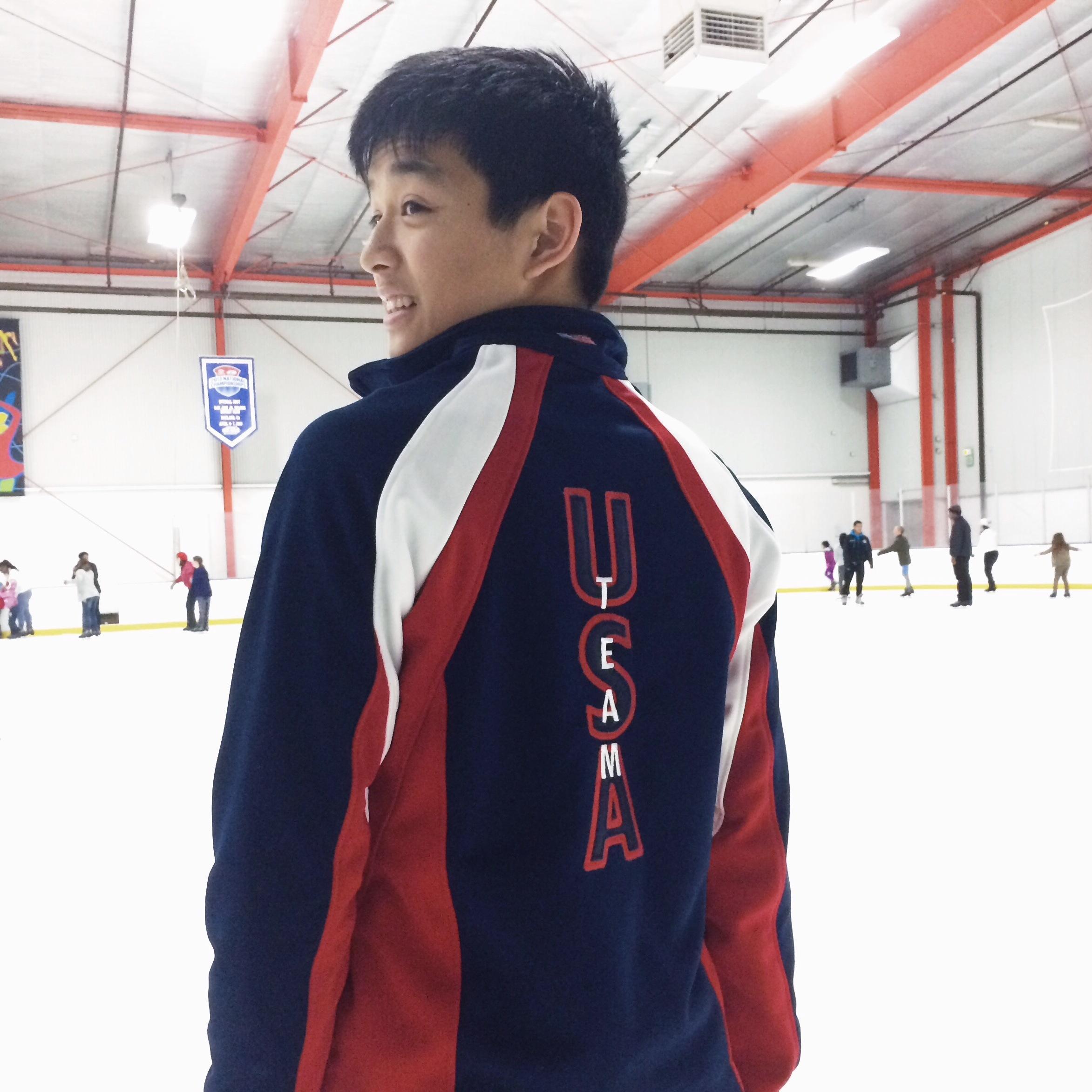 Sporting my new Team USA apparel