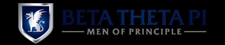 The official Beta Theta Pi horizontal identity.