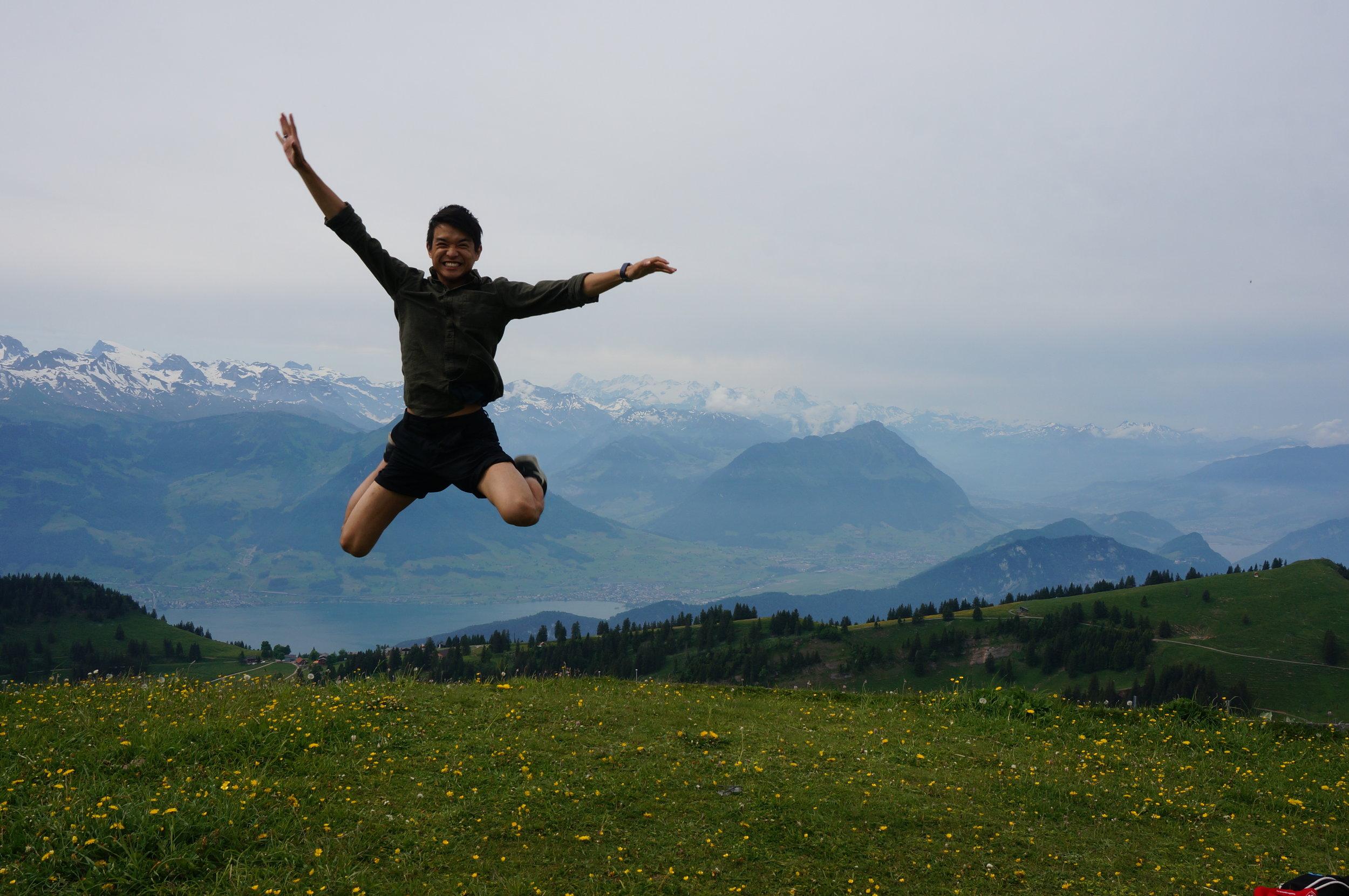Seit wann bist du hier in der Schweiz?