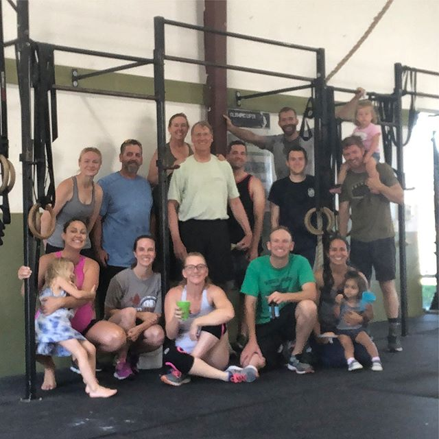 Post father's day workout at CCSC, yesterday!  Wishing all our CCSC dads a great day! #happyfathersday #colusacountystrengthandconditioning