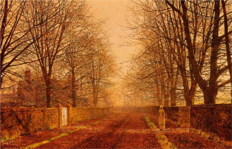Golden Light  by John Atkins Grimshaw