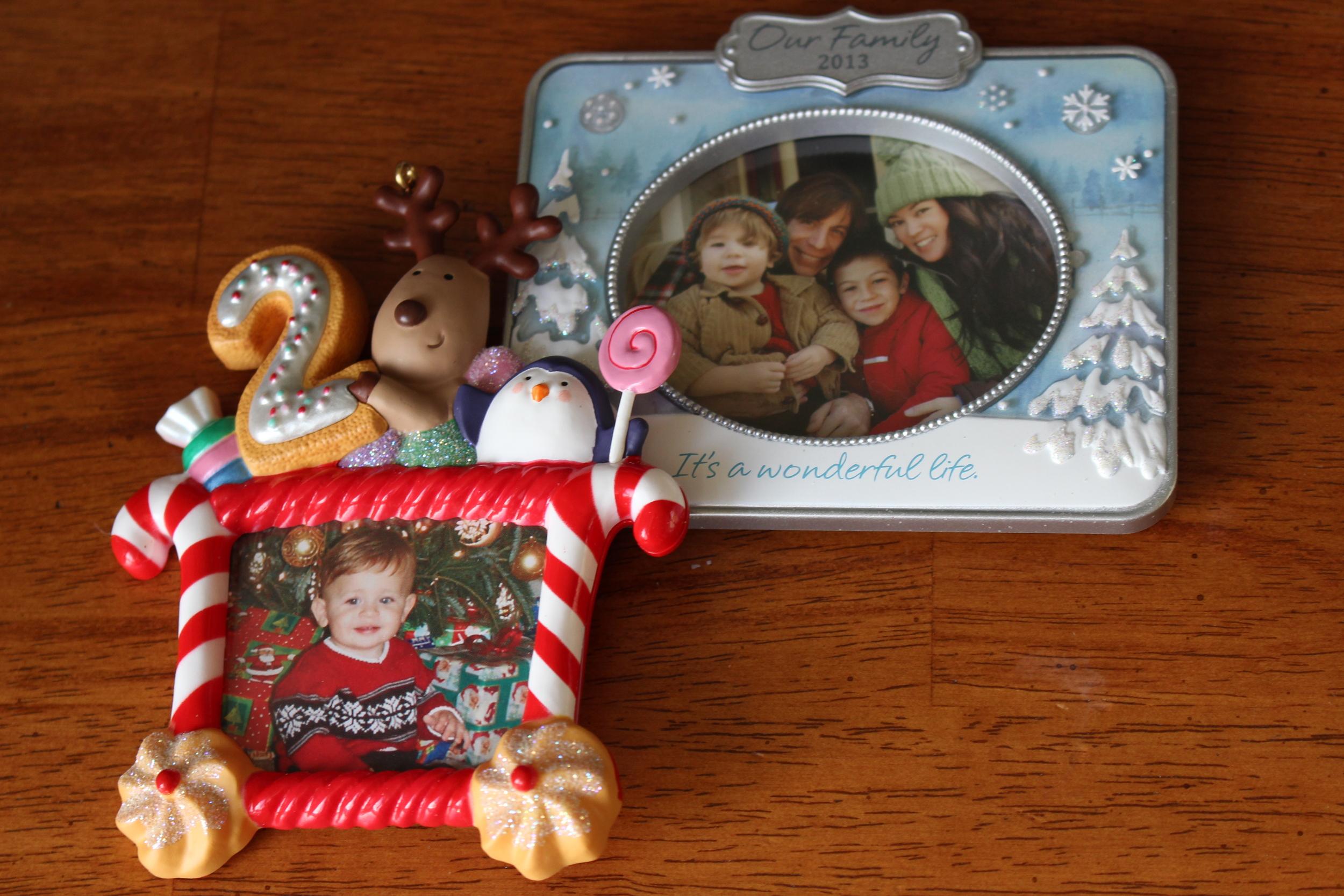 Hallmark photo ornaments stock photos intentional mama