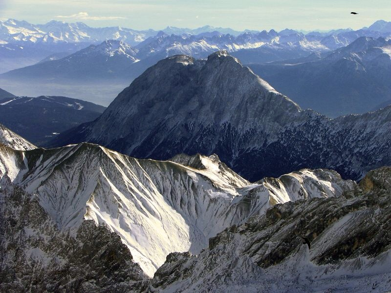 Alps view by  Ruslik