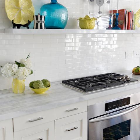 Kitchen by Charles Luck Stone Center via Houzz