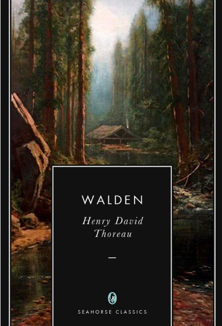 Walden Henry David Thoreau Seahorse Classics Cover.png