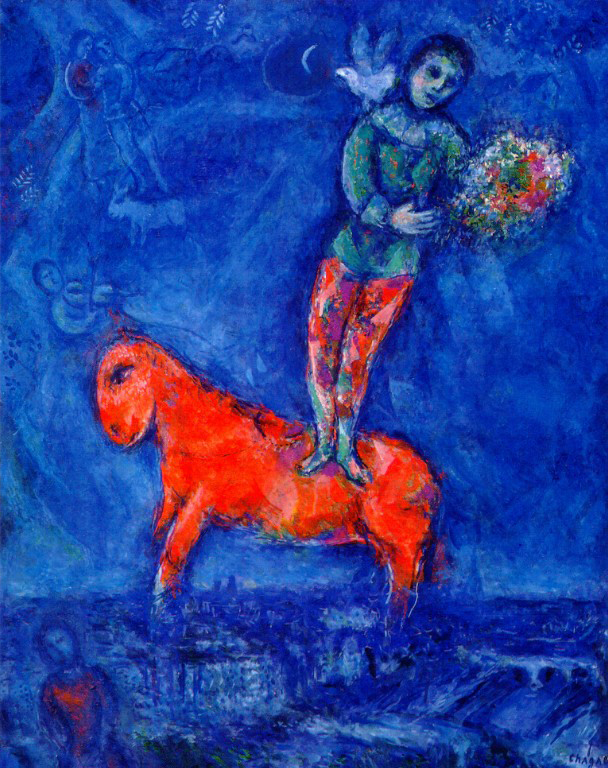 Child with a Dove by  Marc Chagall , 1977