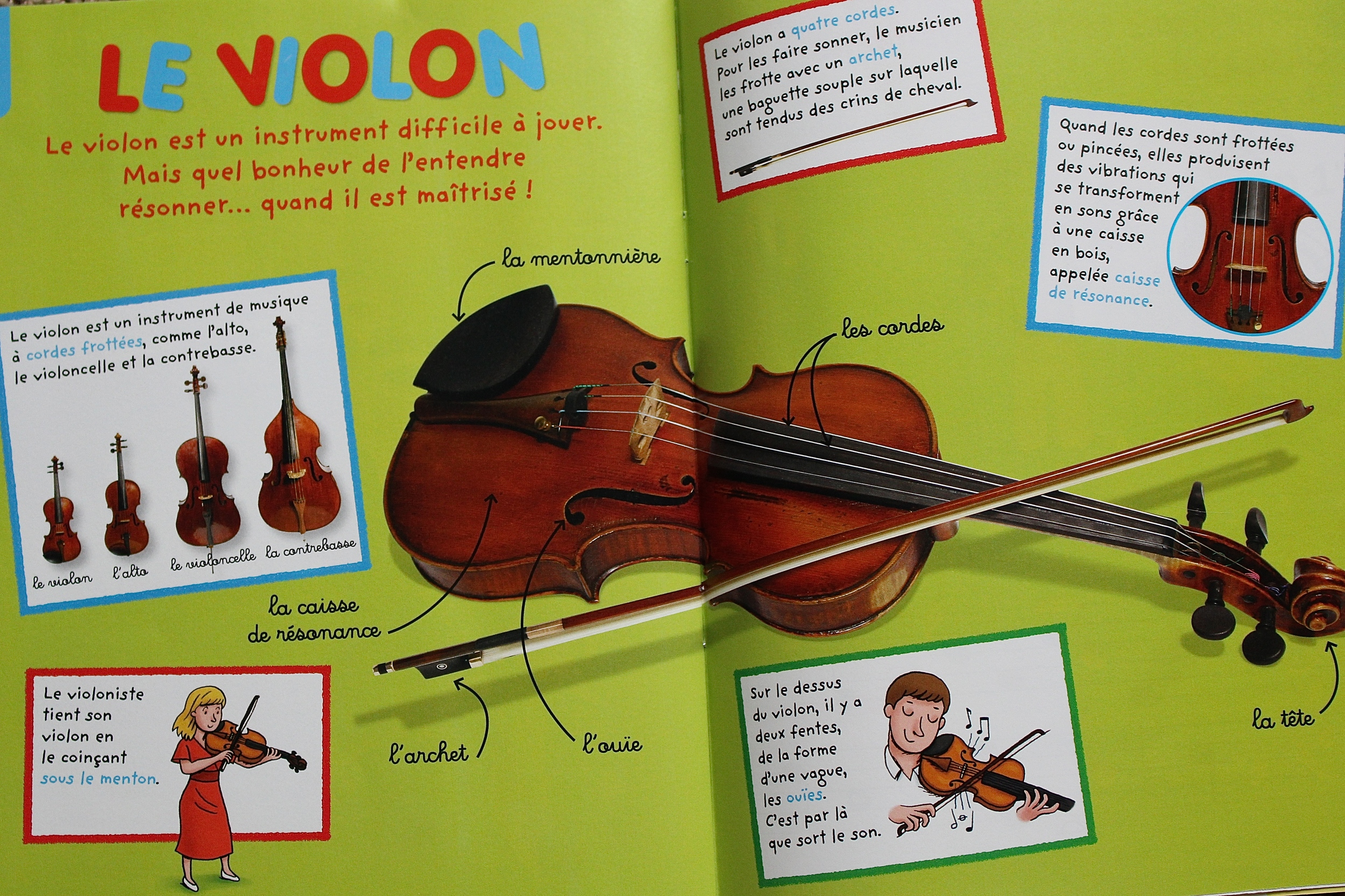 Toupie Chansons instrument page (one per issue)