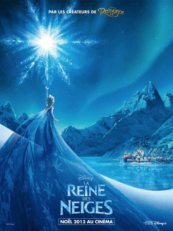 One of the French posters for Frozen