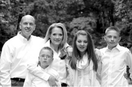 The Bradford family in 2013