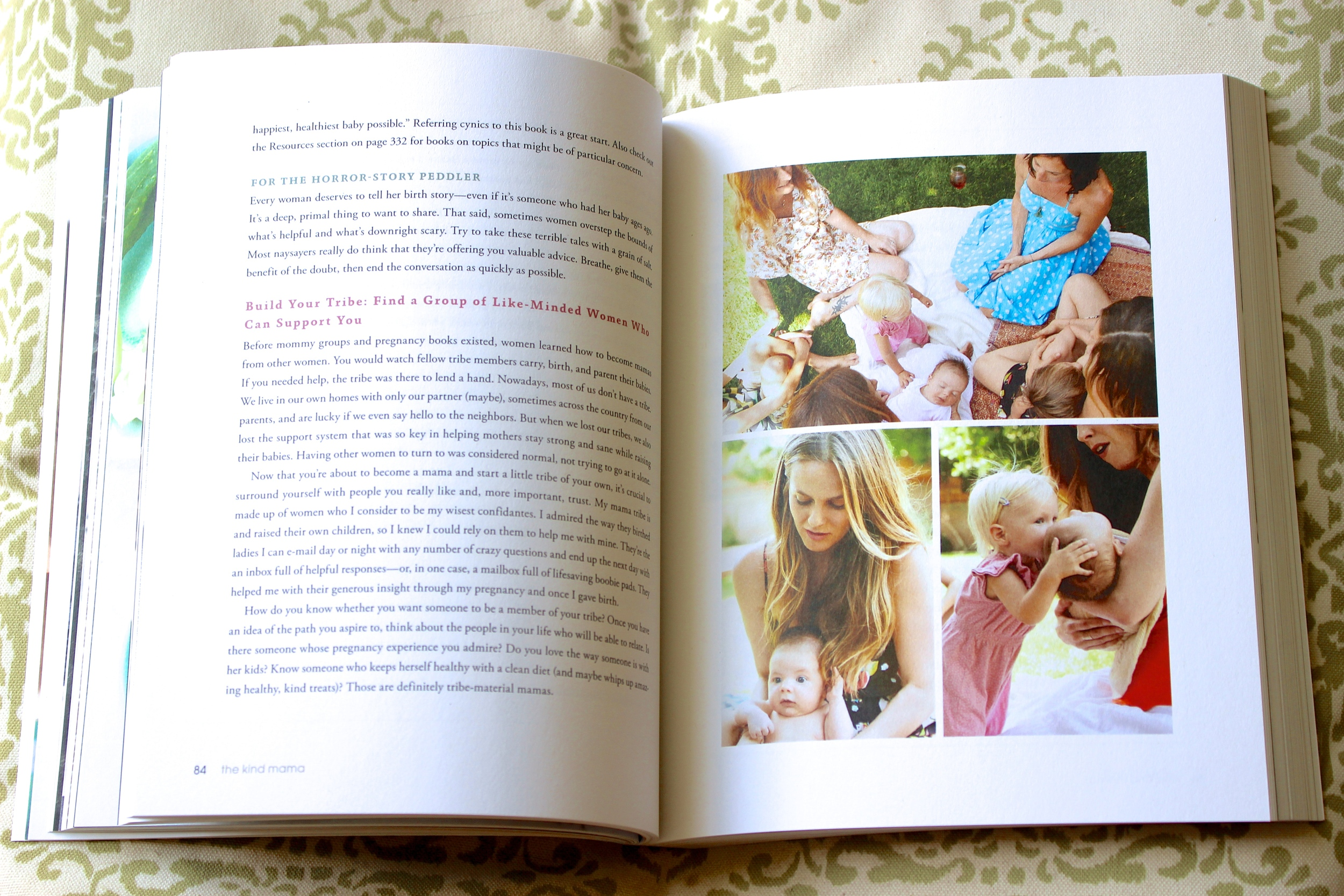 An excerpt from  The Kind Mama  on building your tribe