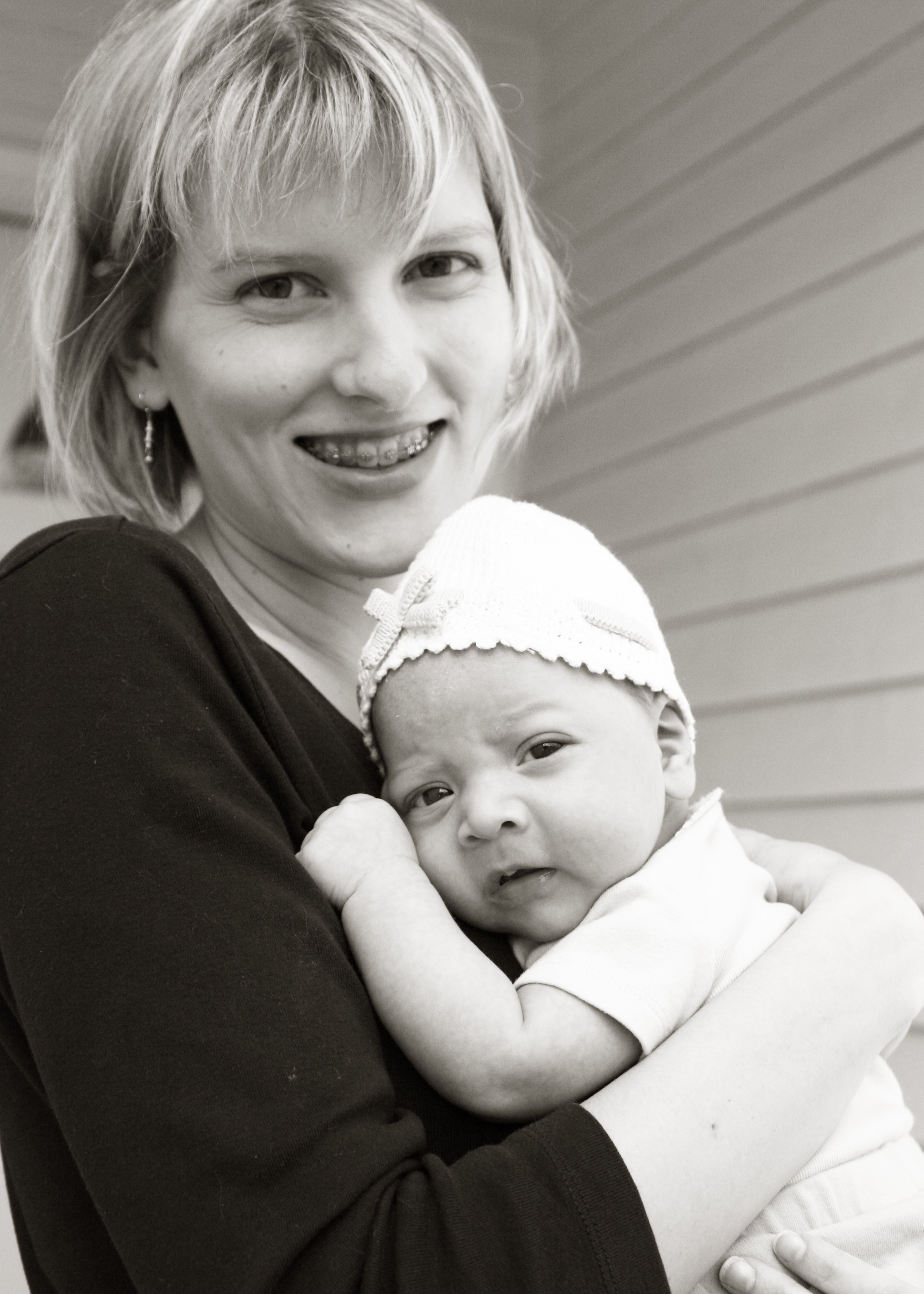 In my early days of motherhood; all photos by Shayne Berry of  Catchlights Photography