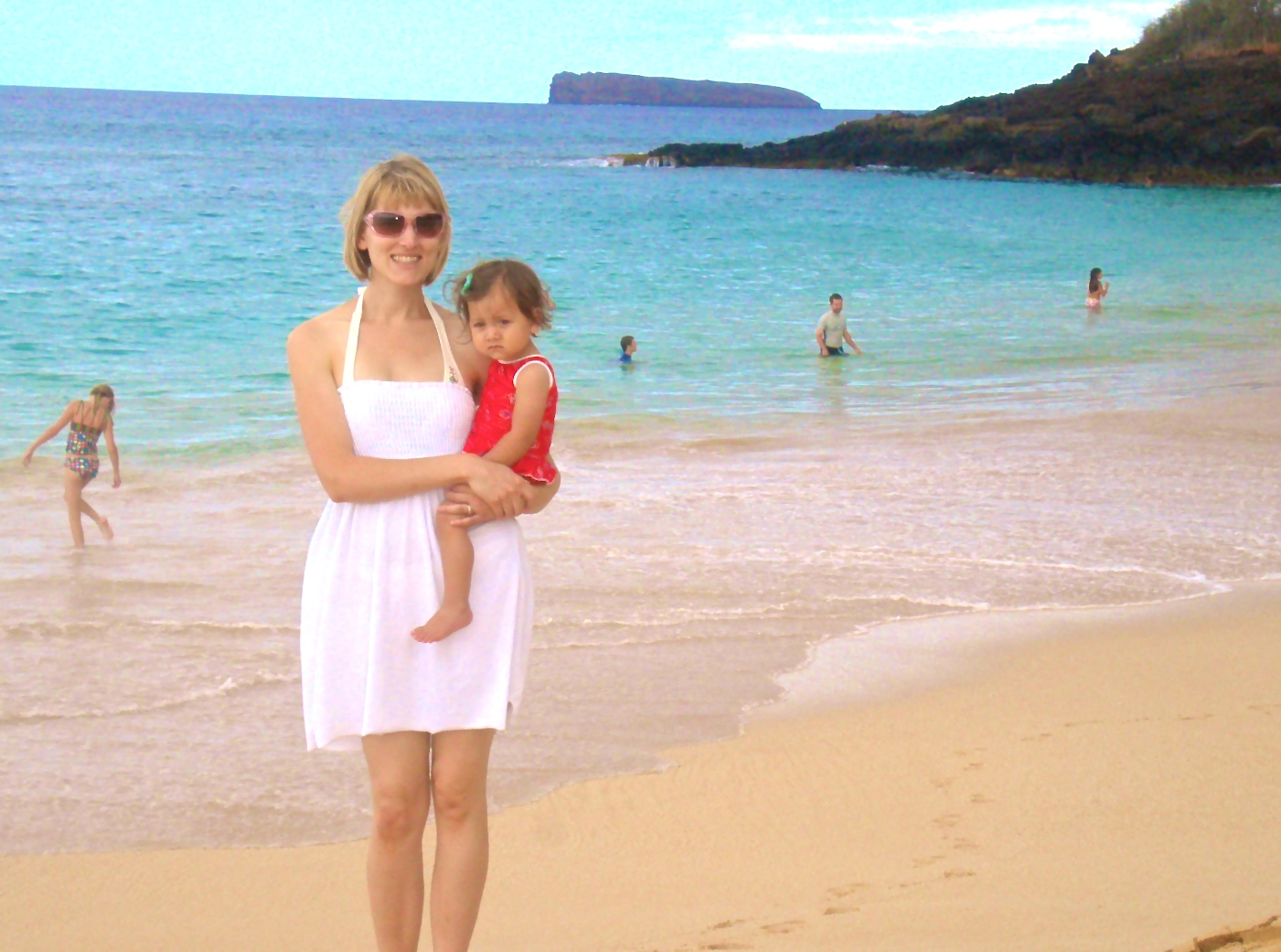 My daughter and I in Maui, Hawaii (2010)