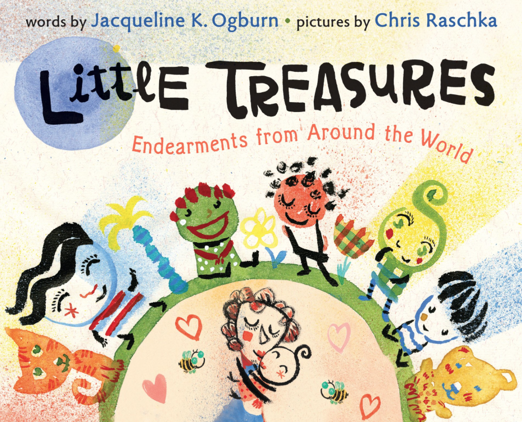 Cover Illustration from Jacqueline Ogburn's  Little Treasures