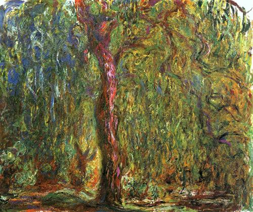 Weeping Willow by Claude Monet, 1919