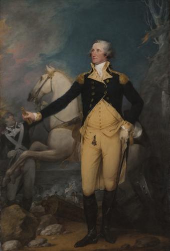 George Washington portrait by John Trumbull, 1792