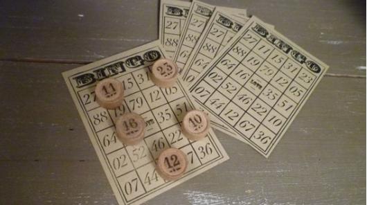 Antique bingo cards by Lawrencecoeur  via  A Little Market