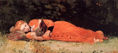 The New Novel by Winslow Homer, 1877