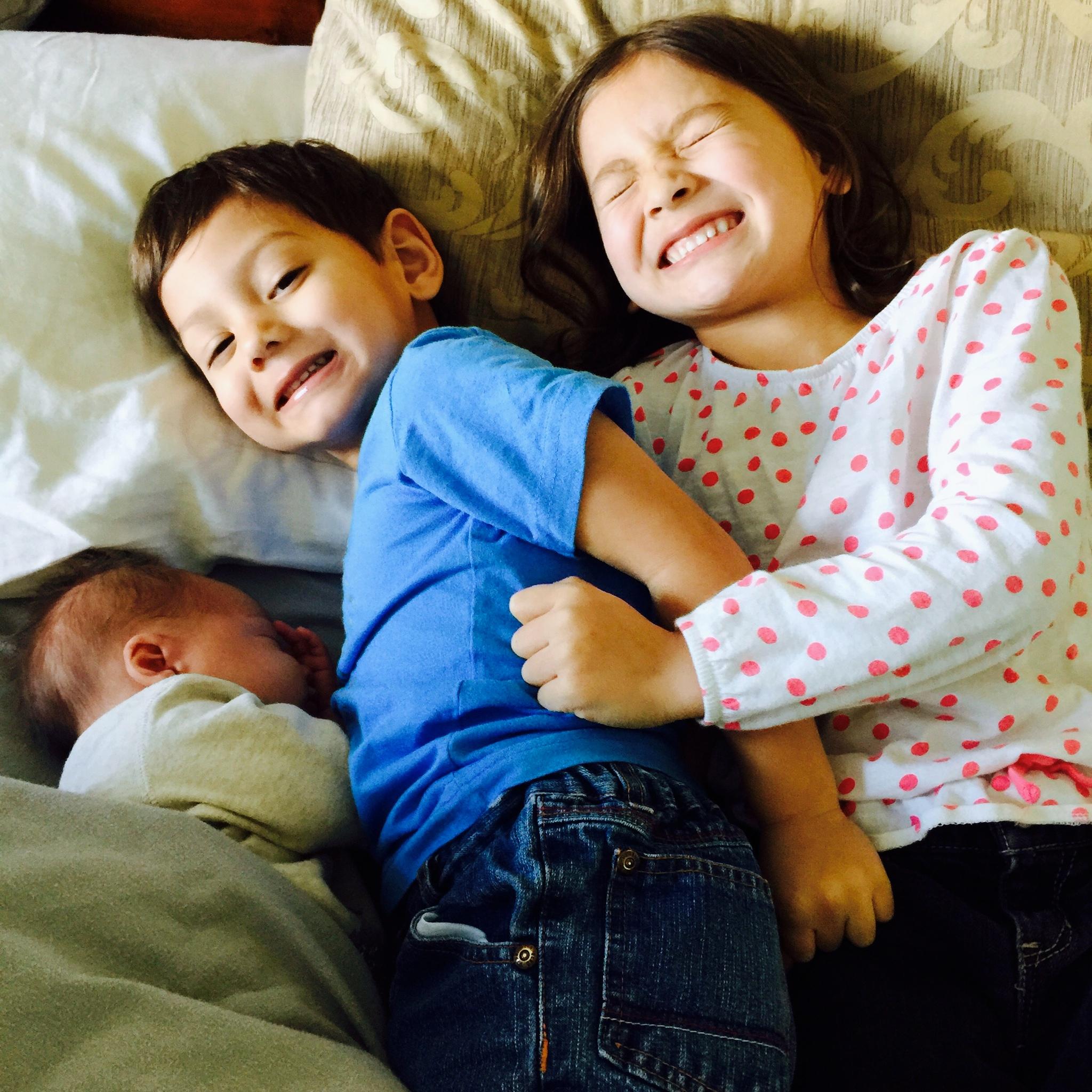 Our three kiddos